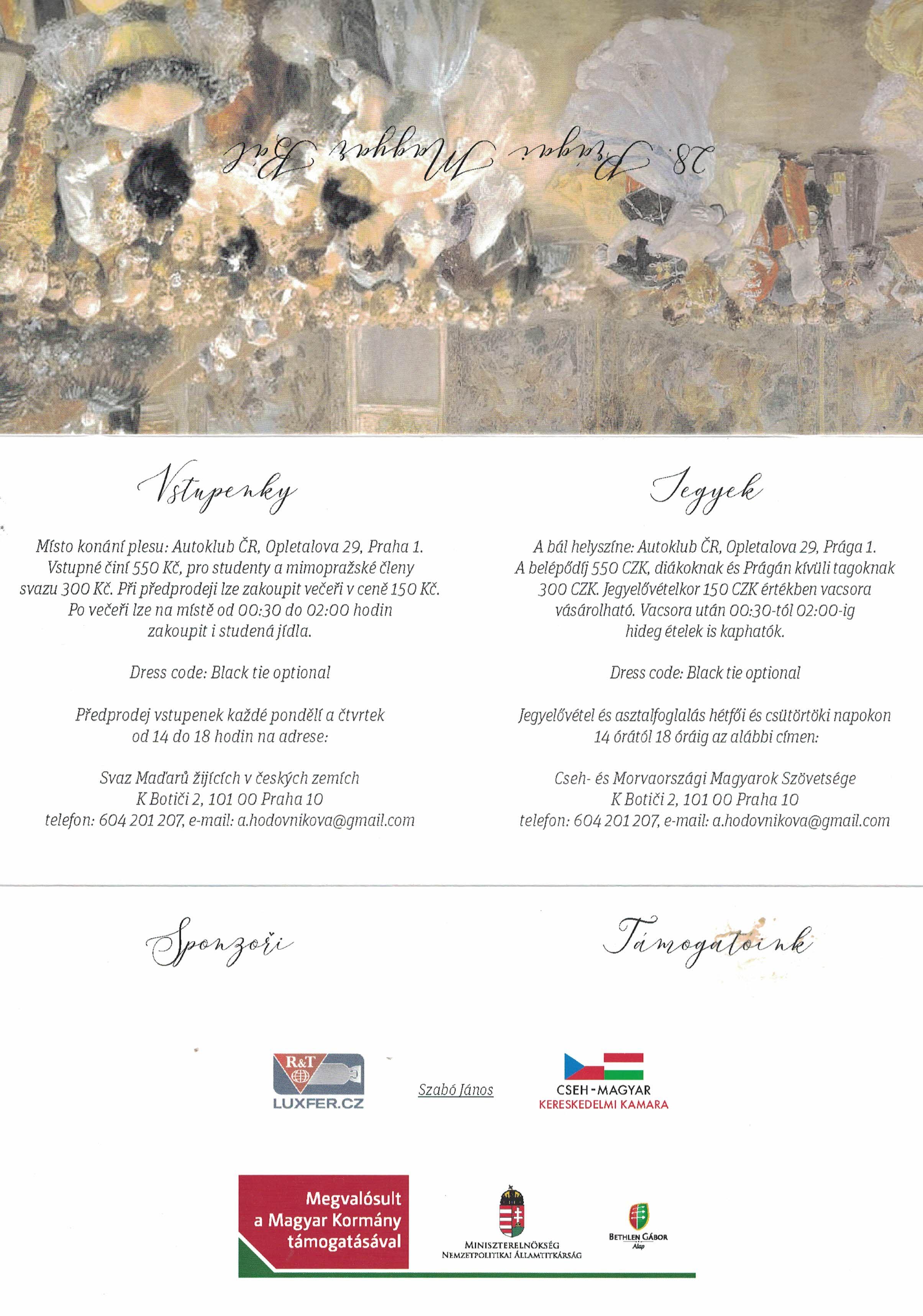 Magyar bál program