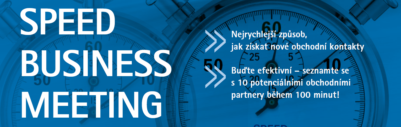 Speed Business Meeting 26. 9. 2019